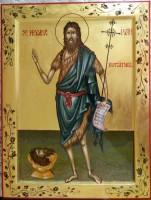 SFANTUL IOAN BOTEZATORUL- Inaintemergatorul si botezatorul Domnului Hristos!