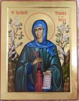 Sfanta Cuvioasa TEODORA DE LA SIHLA-Ajutatoarea tuturor femeilor crestine din Romania, ce isi doresc linistea , pacea si dragostea, atat in monahism cat si in viata de familie!