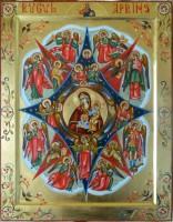 Maica Domnului RUGUL APRINS-  Icoana rugaciunii neincetate!