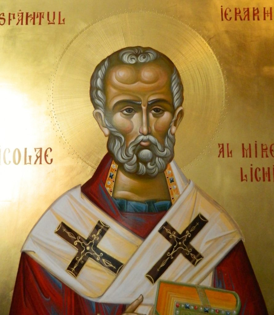 Sf Ier Nicolae- Detaliu