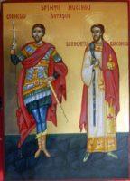 Sfintii Mucenici Corneliu Sutasul si Laurentiu Diaconul- Cei ce prin ocrotirea lor ajuta sufletele celor ce le poarta numele, sa biruiasca !
