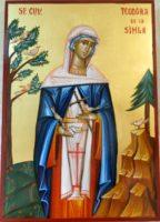 Sfanta Teodora de la Sihla- Printre cele mai dragi sfinte ale neamului romanesc!