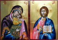 ICOANELE CELE MAI IMPORTANTE DIN CASELE CRESTINILOR- Maica Domnului si Domnul Hristos!