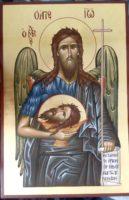 Sfantul Ioan Botezatorul, Inaintemergatorul si  Botezatorul Domnului- INGER IN TRUP!
