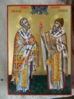 Sfantul Nicolae si Sfantul Spiridon- Cei doi mari facatori de minuni ai crestinatatii!