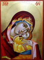 Maica Domnului Dulcea Sarutare, alinarea sufletelor noastre de copii!