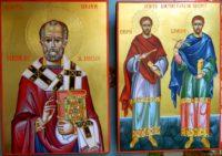 Sfantul Ierarh Nicolae-Sfintii Cosma si Damian- Marii facatori de minuni si doctori de suflete!