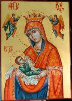 Icoanele Maicii Domnului-Maica Domnului Hranitoarea si Maica Domnului Imparateasa Ingerilor