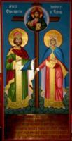 Icoana Sfintilor Imparati Constantin si Elena- printre cele mai recente realizari.