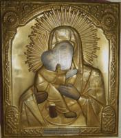 Restaurarea Icoanelor Imbracate in Metal (ferecate) - argint sau tabla aurita.