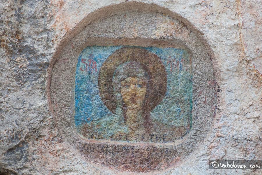 Restaurarea icoanei de la Stânca Sfânta Ana din Sinaia