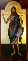 SFANTUL IOAN BOTEZATORUL- Pururea rugator pentru noi la tronul Domnului Hristos!