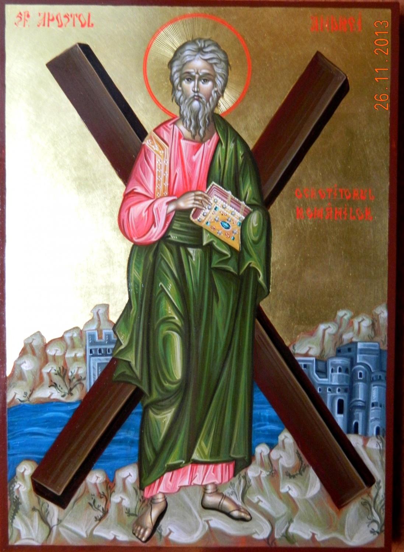 SFANTUL APOSTOL ANDREI- Ocrotitorul spiritual al romanilor de pretutindeni,si un nume purtat de milioane de crestini!