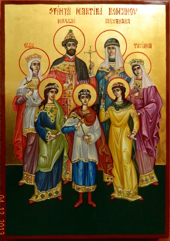 SFINTII MUCENICI ROMANOV- Familia de martiri a Rusiei ce s-a jerfit pentru tara lor si pentru ortodoxie, la fel ca Sfintii Martiri Brancoveni pentru tara romaneasca.
