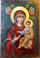 Maica Domnului cu Pruncul ,Povatuitoarea- Icoana la care s-au rugat multi sfinti de ieri si de azi, dar si multe suflete ce au nevoie de indrumare in aceasta viata!