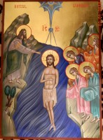 Icoana botezului Domnului Iisus Hristos , innoirea si sfintirea hainei sufletelor noastre!