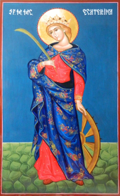 Sfanta Mare Mucenita Ecaterina- Intelepciunea si frumusetea desavarsita a unui suflet curat! Ocrotitoarea copiilor intelepti si a sotiilor iubitoare!