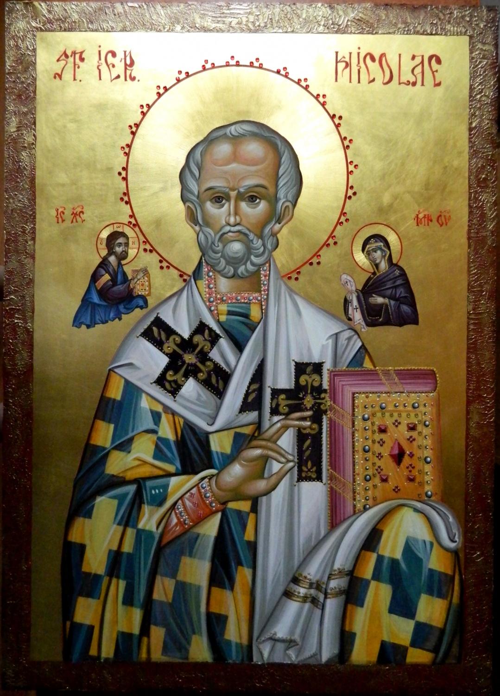 Sfantul Ierarh NICOLAE al Mirelor Lichiei- Cel ce ne trimite neintrerup darurile sale, credinta, dragostea si milostivirea!