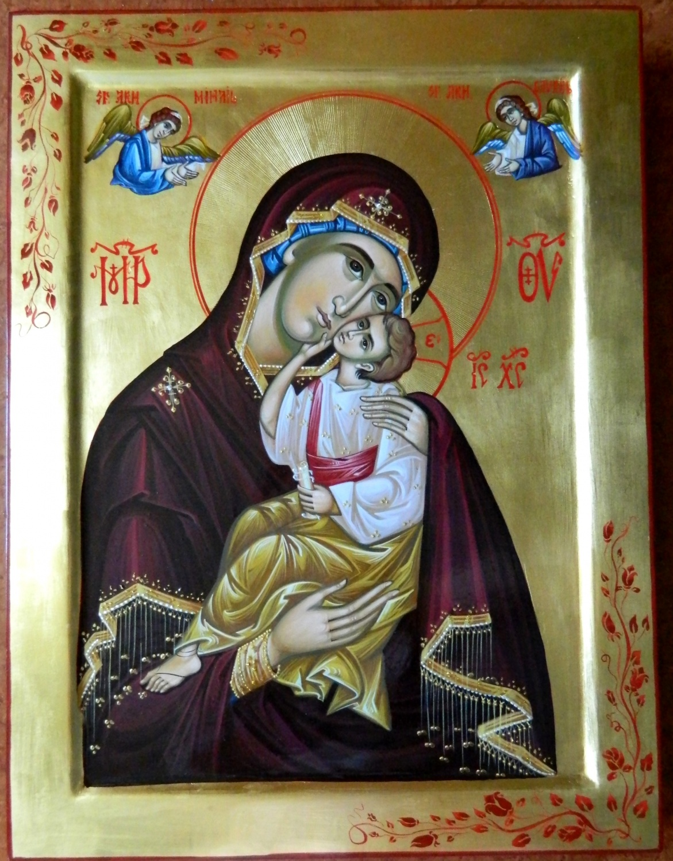 Maica Domnului- Nadejdea si scaparea noastra , in aceasta viata dar si la intalnirea cu Domnul Hristos!