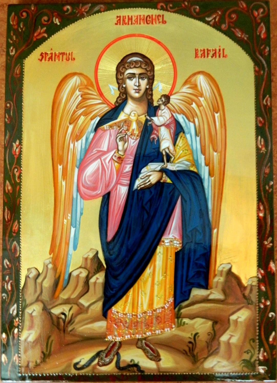 Sfantul Arhanghel Rafail- Pazitorul si ocrotitorul sufletelor, si vindecatorul bolilor noastre!