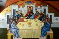 Cina cea de Taina- Viata vesnica in fericire si sfintenie ,la masa Imparatului cerului si al pamantului!