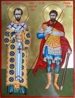 Sfintii Lui Dumnezeu, Prietenii nostri apropiati!- Sfantul Ioan Gura de Aur si Sfantul Mucenic Teodor  Tiron