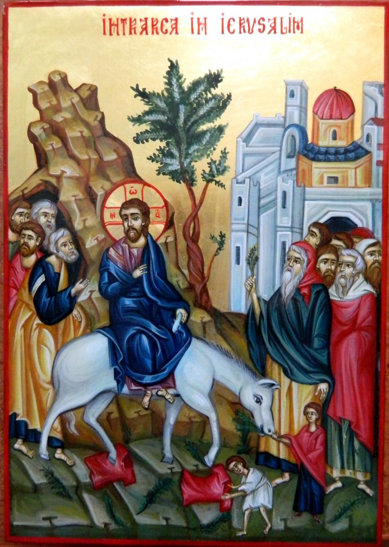 Intrarea Domnului in Ierusalim- poate reprezenta intrarea Domnului in inima noastra!