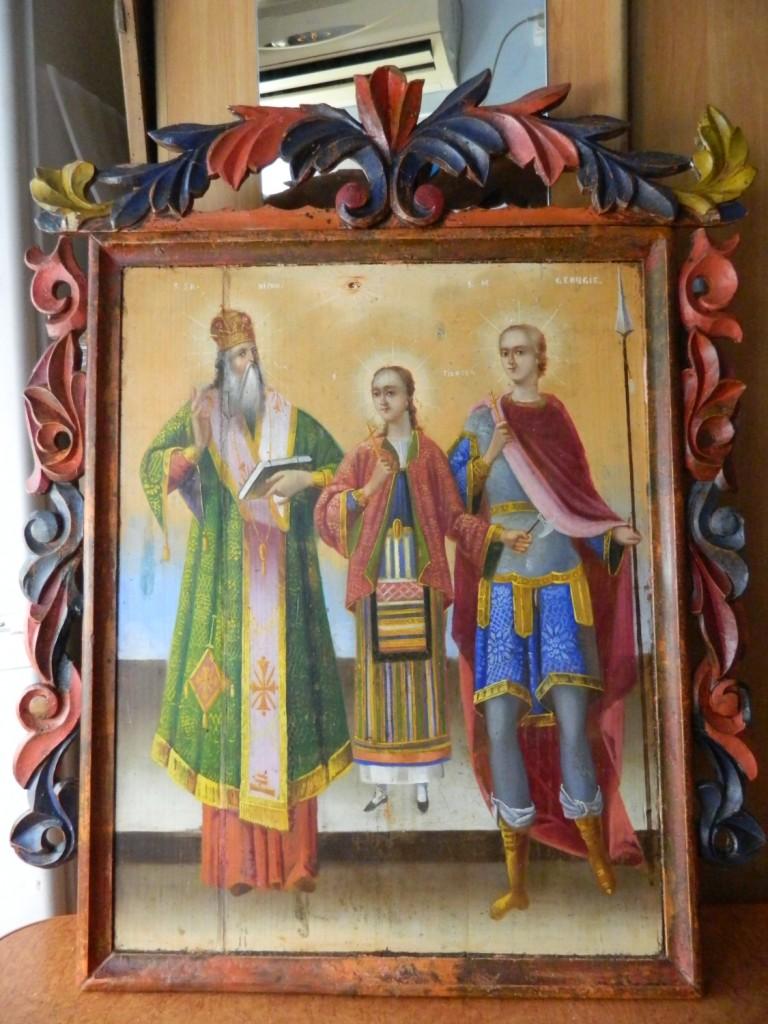Sf Nifon, Sf Filofteia si Sf Gheorghe- Dupa operatiunile de restaurare- Final