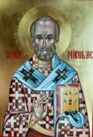 Icoanele Sfintilor ocrotitori ai casei!- Sfantul Nicolae, Sfanta Treime, Sfintii Doctori Fara de arginti Cosma si Damian
