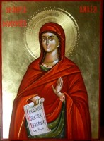 Sfanta Mucenita Daria-  Pazitoarea multor suflete de copil!