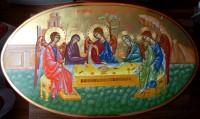 Icoana Sfintei Treimi- Icoana Dumnezeirii cea in trei straluciri!