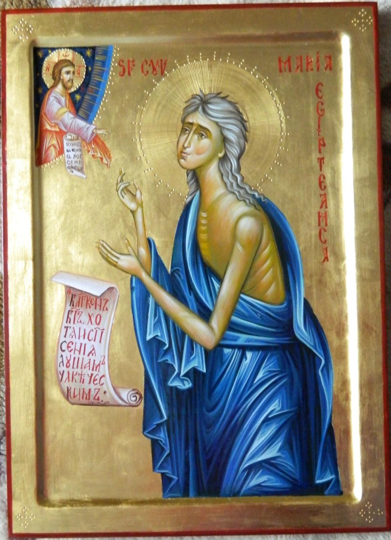 Sfanta Cuvioasa Maria Egipteanca - Chipul desavrasit al pocaintei omului pacatos!