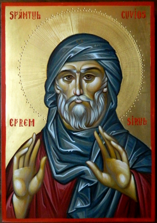 Sfantul Efrem Sirul- Dascalul rugaciunii si al pocaintei!