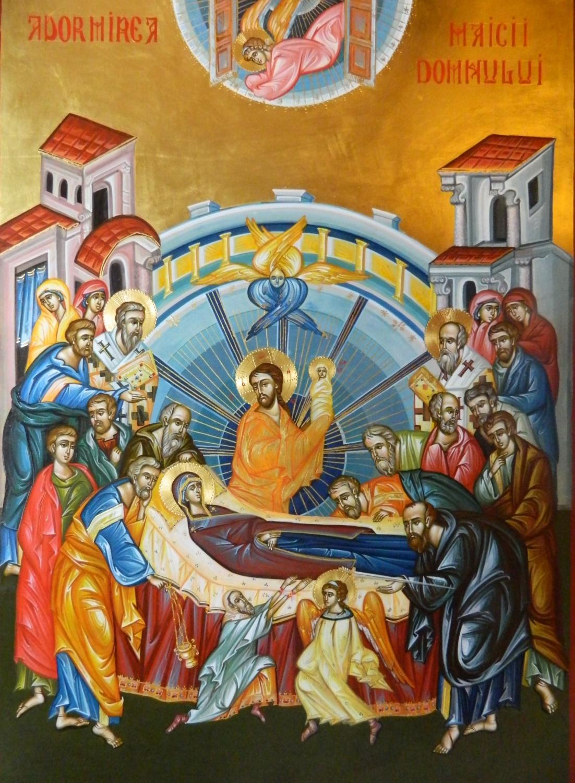 Adormirea Maicii Domnului- Praznicul adormirii  sufletelor noastre in nadejdea Invierii!