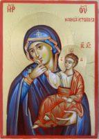Maica Domnului Mangaietoarea Paramythia- Icoana Maicii Domnului care alina suferinta sufletului intristat si asuprit!