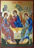 Icoana Sfintei Treimi- Icoana Dumnezeului nostru Sfant si de Viata datator!
