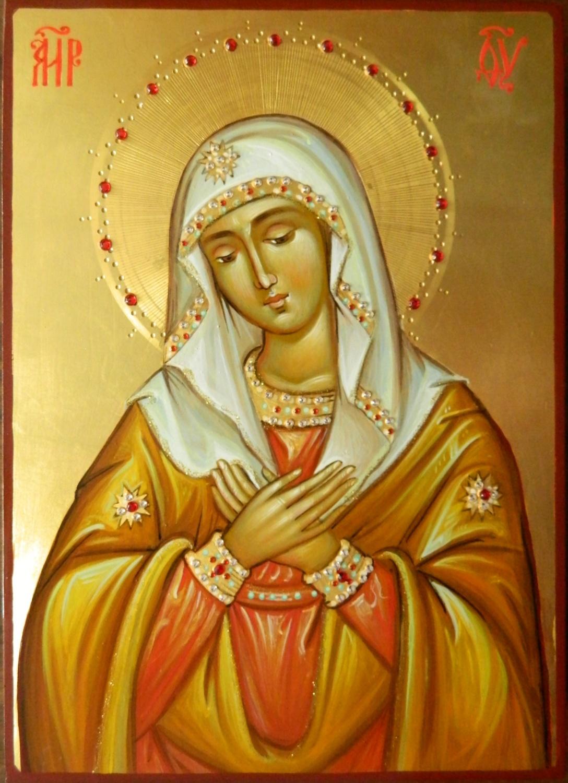 Maica Domnului UMILENIA- Icoana rugaciunii, a umilintei si a smereniei!