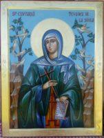 Sfanta Cuvioasa Teodora de la Sihla- Ocrotitoarea si indrumatoarea femeilor si a fetelor ce ii poarta numele!