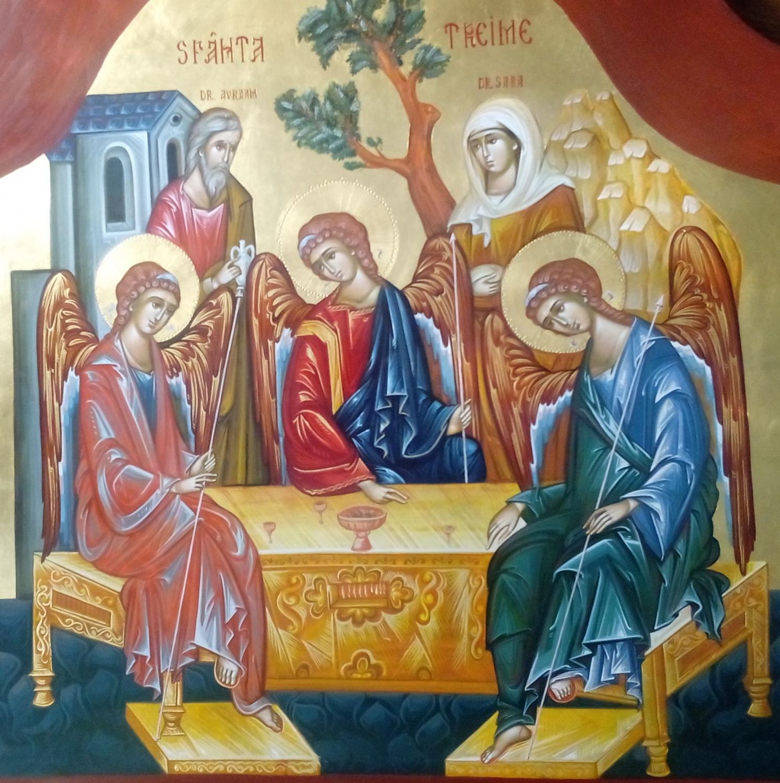 SFANTA TREIME- Icoana Dumnezeirii in trei straluciri!