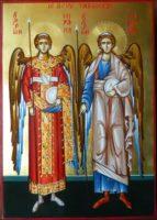Sfintii Arhangheli Mihail si Gavriil- Ingerii pazitori de toata lucrarea diavoleasca!