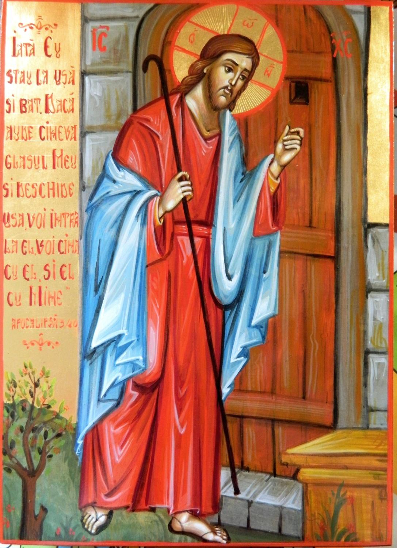 Iisus Hristos batand la usa sufletului nostru!