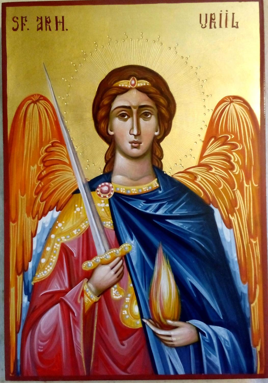 Sfantul Arhanghel Uriil- Lumina si focul dumnezeiesc!