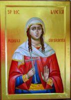 Sfanta Mucenita Lucia din Siracuza- Ocrotitoarea sufletelor de copil si a sufletelor jertfelnice!