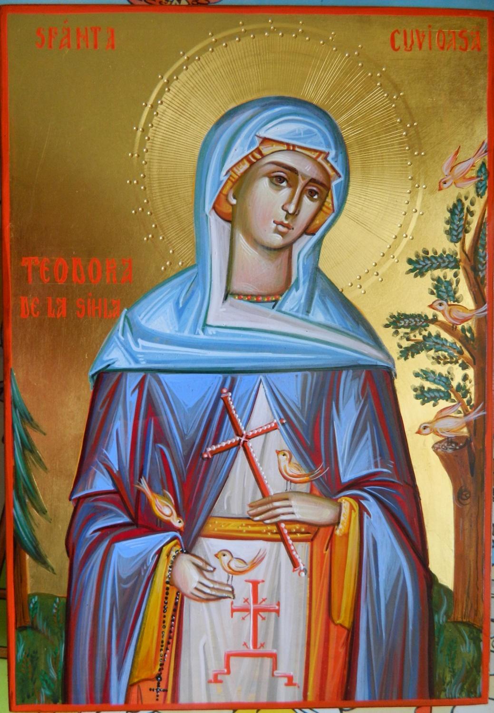 Sfanta Cuvioasa Teodora de la Sihla- Ocrotitoarea celor daruitori!