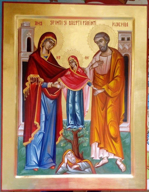 Sfintii Parinti Ioachim si Ana- Icoana familiei crestine!