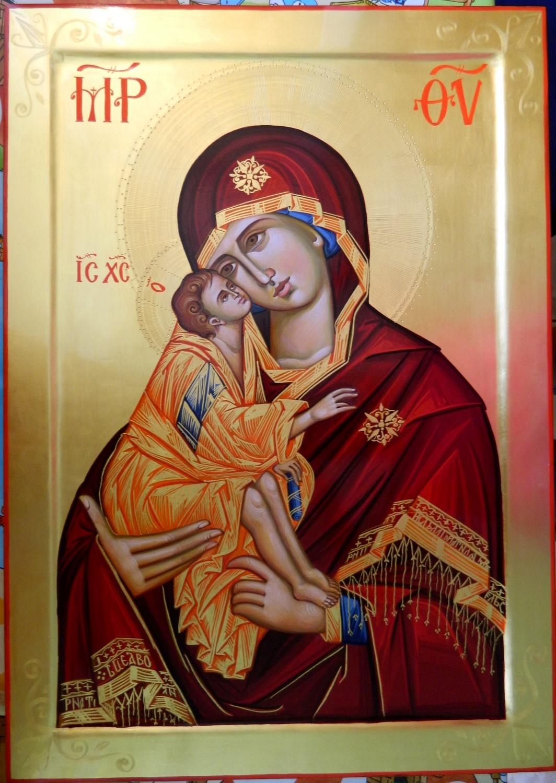 Maica Domnului Dulcea Sarutare - Pururea rugatoare si mijlocitoare pentru noi copii ei!