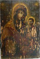RESTAURAREA ICOANELOR DE PATRIMONIU- Maica Domnului cu Pruncul