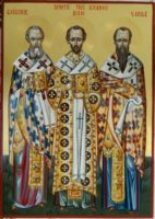 SFINTII TREI IERARHI- Vasile, Grigorie si Ioan!- cei trei mari luminatori ai ortodoxiei, sfintii care ne unesc si ne impaca!