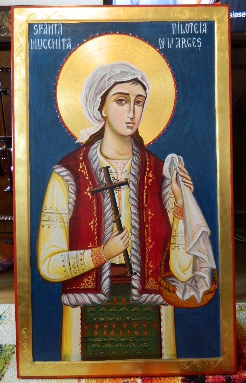 Sfanta Mucenita FILOFTEIA de la Curtea de Arges- Fecioria si milostenia, cele doua mari cununi ale tinerilor!
