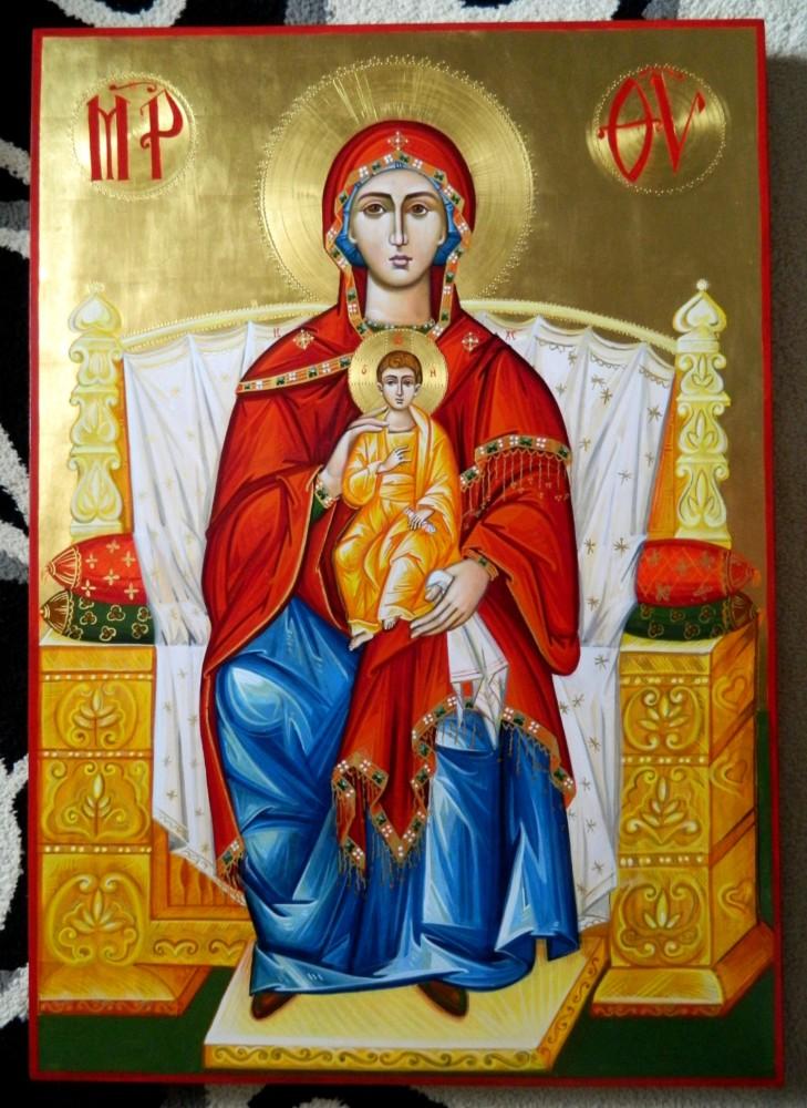 Preasfanta Nascatoare de Dumnezeu- Imparateasa ingerilor si a oamenilor!